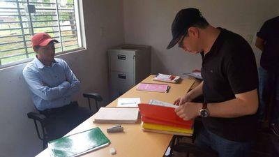 Fiscalía allana municipalidad de Azote'y por supuestas irregularidades