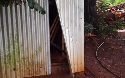 Roban insecticidas de un depósito en Santa Fe del Peraná