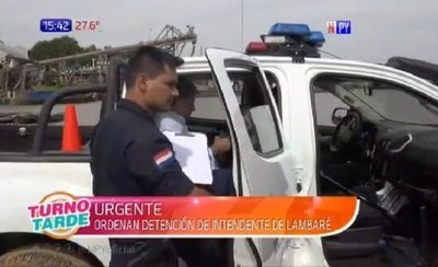 Detienen a intendente de Lambaré por supuesta lesión de confianza