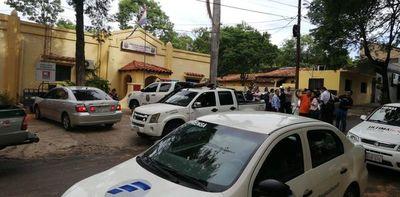 Lambaré: intendente y su exadministrador pasarán la noche en calabozo