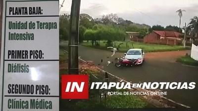 MOTOCICLISTAS ACCIDENTADOS COPAN TERAPIA INTENSIVA DEL HRE