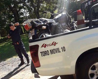 Hallan motocicleta presuntamente utilizada por sicarios que mataron a juez