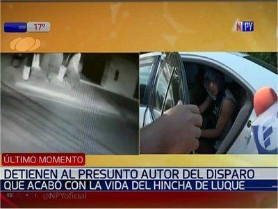 Crimen del hincha de Luque: Detienen al principal sospechoso