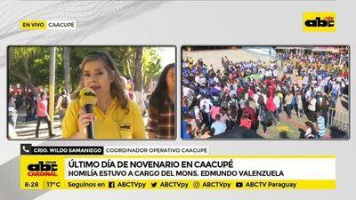 Policía ultima detalles en Caacupé