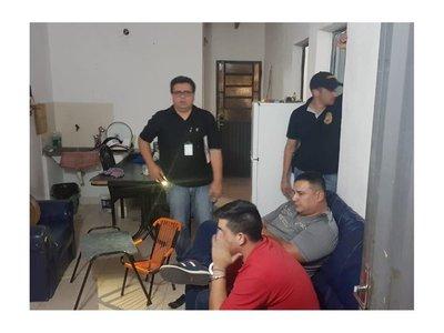 Villarrica: Dos técnicos detenidos por supuesta venta de cocaína