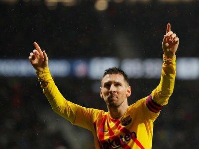 Messi, mejor jugador de LaLiga Santander en noviembre