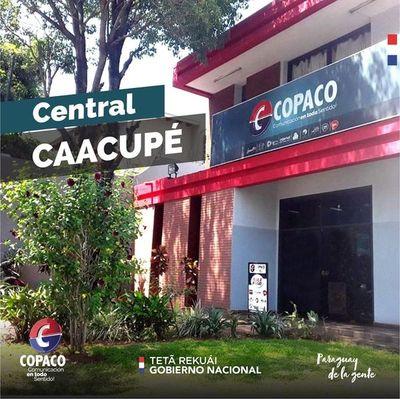 Copaco amplía sus servicios en Cordillera durante festividad de Caacupé