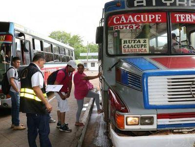 Terminal de Asunción prevé superar los 80.000 fieles rumbo a Caacupé