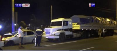 Brutal accidente en Pargue Guasu