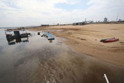 Reinicia aumento del nivel del río Paraguay