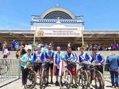 Más de 250 kilómetros a pedal para venerar a la Virgen de Caacupé