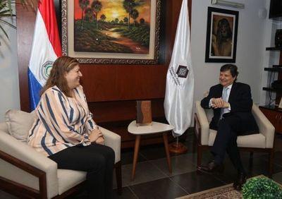 Ministerio del Interior coordina labores con Fiscalía General