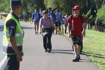 Caacupé: recuerdan números de emergencias a peregrinos