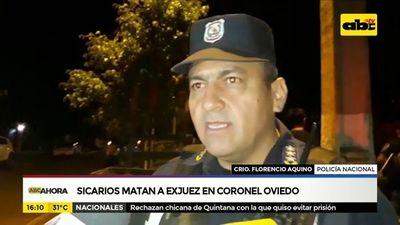 Sicarios matan a exjuez en Coronel Oviedo