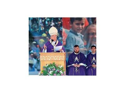 Arzobispo dijo  que mero ritualismo no aleja de  las drogas y la violencia