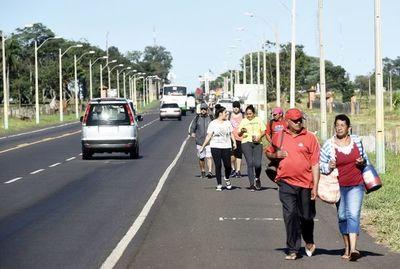 Caacupé recibe hoy a una multitud de peregrinos