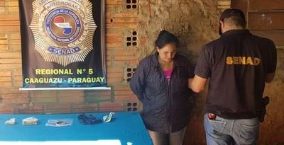 """Capturan a mujer reclutadora de """"mulas"""" en Asunción"""