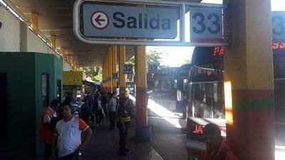 Terminal de Ómnibus registra menos feligreses que el año 2018