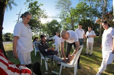 Ministerio de Salud atiende a más de 7.500 peregrinantes