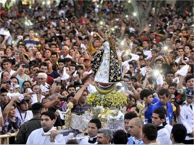 El día en que la Virgen de Caacupé se quedó sin procesión