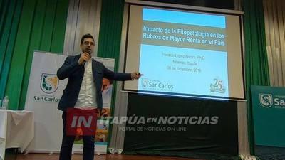 DICTAN CONFERENCIA SOBRE EL IMPACTO DE LAS FITOPATOLOGÍAS EN PARAGUAY