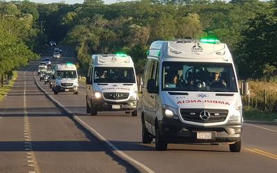 Operativo Caacupé: Salud asistió a  más de 16 mil fieles