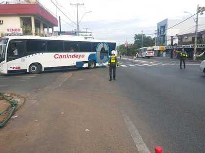 Caminera detuvo a 113 conductores por dar positivo al alcotest en operativo Caacupé