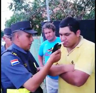 """Operativo Caacupé"": Caminera sacó de circulación a más de 100 conductores ebrios •"