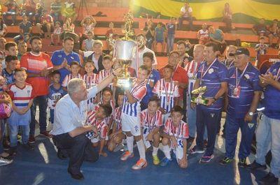 Amambay campeón invicto del Nacional C9 de fútbol de salón