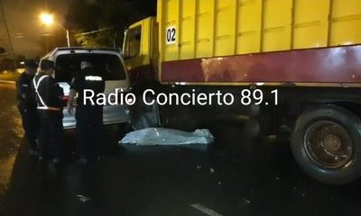 Recolector de basuras muere arrollado en CDE