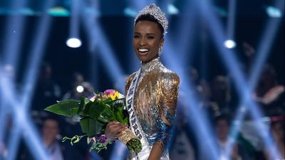 "Sudáfrica se lleva el Miss Universo: ""Es un honor representar a la diversidad"""