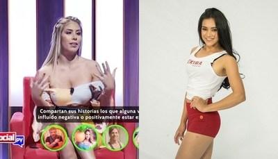 """Sole Cardozo y """"La Chica Extra"""" fuera de """"Baila Conmigo Paraguay"""""""