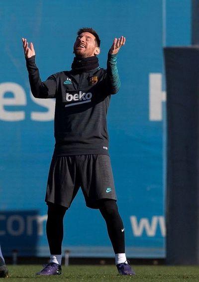 Messi, descartado para el partido en Milan