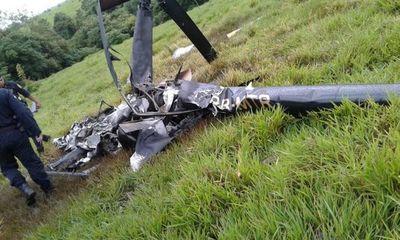 Nada se sabe de los tripulantes de un helicóptero caído en Itakyry