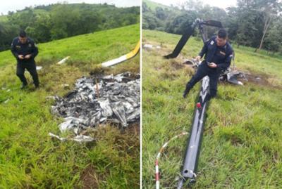 No hay rastros de ocupantes de helicóptero caído en Itakyry