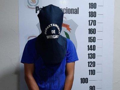 Capturan a sospechoso del crimen de un adolescente en Asunción