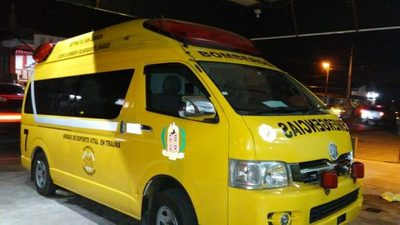 Bomberos con nueva ambulancia