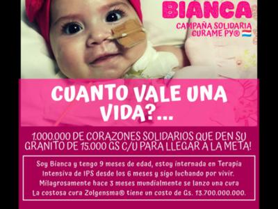 Apelan a la solidaridad paraguaya en busca de la cura