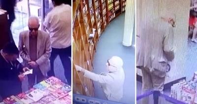 Encuentran robando un libro a embajador mexicano en Argentina