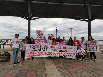 'Curame Paraguay, Todos somos Bianca', Campaña que pide ayuda a ciudadanía para salvar a niña que necesita costoso tratamiento