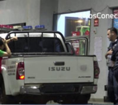 Delincuentes robaron por segunda vez en 8 días la misma gasolinera
