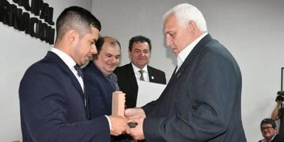 HABILITARON GALERIA DE EX PRESIDENTES DE LA JUNTA MUNICIPAL