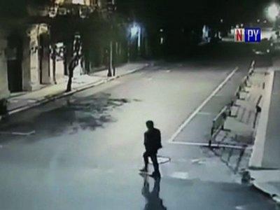 Tres aprehendidos por disparo al aire frente a Vicepresidencia