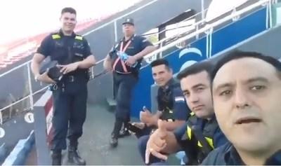 """""""Va jugar enseguida '25 pagantes'"""": Policía que se burló de escasa asistencia de hinchas de Cerro, fue sumariado"""