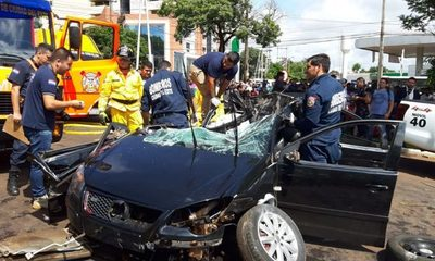 Brasileño fallece en brutal accidente en CDE