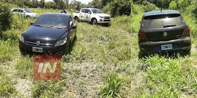 ENCUENTRAN AUTOMÓVIL CON CHAPA ARGENTINA ABANDONADO EN ITA PASO