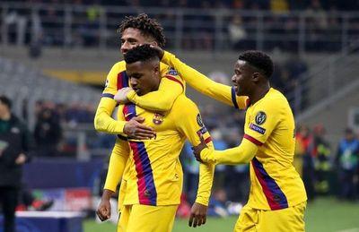 Pérez y Ansu Fati dan triunfo al Barça en San Siro