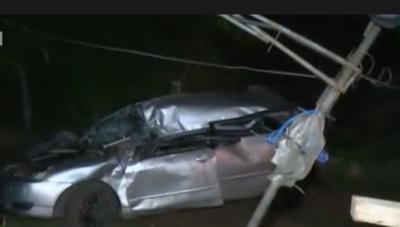 HOY / Joven conductor muere en terrible accidente en Limpio