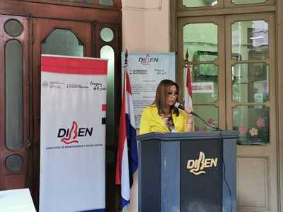 Titular de la Diben presenta su informe de gestión