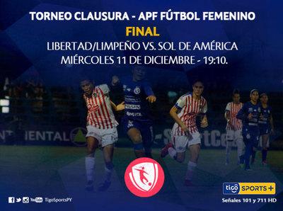 Se define el fútbol femenino